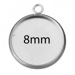 Kruhové lůžko 8mm
