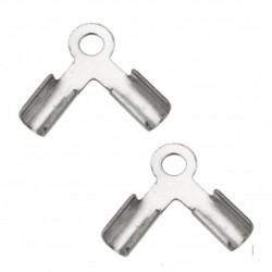 Koncovka dvojitá z chirurgické oceli