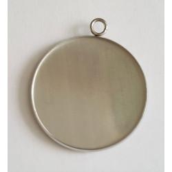 Kruhové lůžko VNITŘNÍ ČÁST 20mm z chirurgické oceli