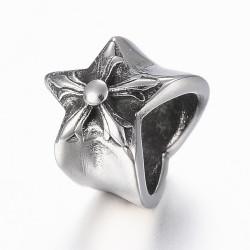 Korálek hvězdička z chirurgické oceli