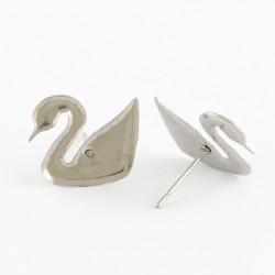Puseta ve tvaru labutě z chirurgické oceli