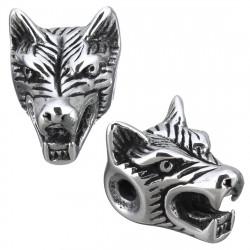 Korálek hlava vlka