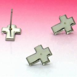 Puseta křížek z chirurgické oceli