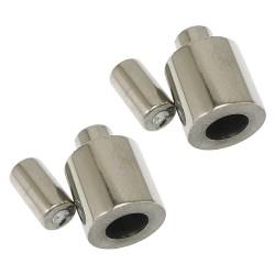 Magnetické zapínání průvlek 2mm z chirurgické oceli
