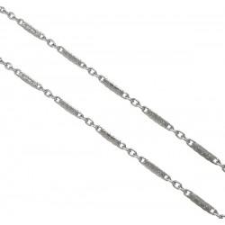 Konektorová řetízkovina 9 x 2mm z chirurgické oceli