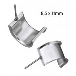 Puseta s miskou o velikosti 8,5 x 11mm z chirurgické oceli