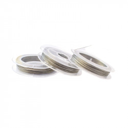 Ocelové lanko 0,45mm v různých barvách 8m