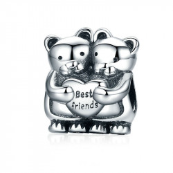 Korálek AG 925/1000 s nápisem Friends