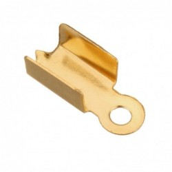 Koncovka zlatá galvanizace z chirurgické oceli