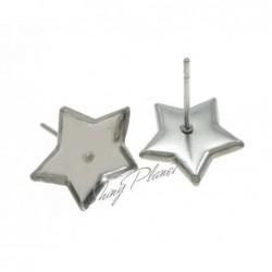 Puseta, lůžko ve tvaru pěticípé hvězdy z chirurgické oceli