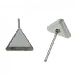 Puseta lůžko ve tvaru trojúhelníku z chirurgická oceli
